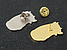 Значки пины металлические (3,6х2,2 см), фото 3