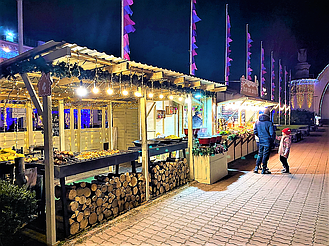 """Компания """"Промконтракт"""" изготовила и поставила в Киев на ВДНХ торговые киоски и павильоны для сезонного развлекательного парка «Зимова країна... 9"""