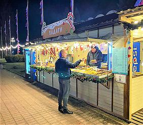 """Компания """"Промконтракт"""" изготовила и поставила в Киев на ВДНХ торговые киоски и павильоны для сезонного развлекательного парка «Зимова країна... 11"""