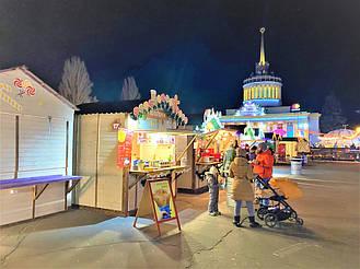 """Компания """"Промконтракт"""" изготовила и поставила в Киев на ВДНХ торговые киоски и павильоны для сезонного развлекательного парка «Зимова країна... 19"""