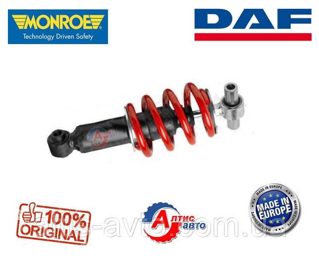 Передний амортизатор кабины Даф 45 LF, LF55 Monroe 1407080, 1405507, с пружиной