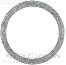 Кольцо металлическое ПРОКЛАДКА 14X18X1.5 FISCHER 047.810