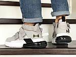 Чоловічі кросівки Nike Air Force 270 (сіро-білі), фото 5