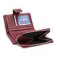 Женский Кошелек Портмоне Маленький Baellerry (N1812) на Кнопке для Карточек Красный, фото 7