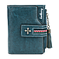 Женский Кошелек Маленький Baellerry Templar Mini (N1636) на Кнопке для Карточек Синий, фото 2