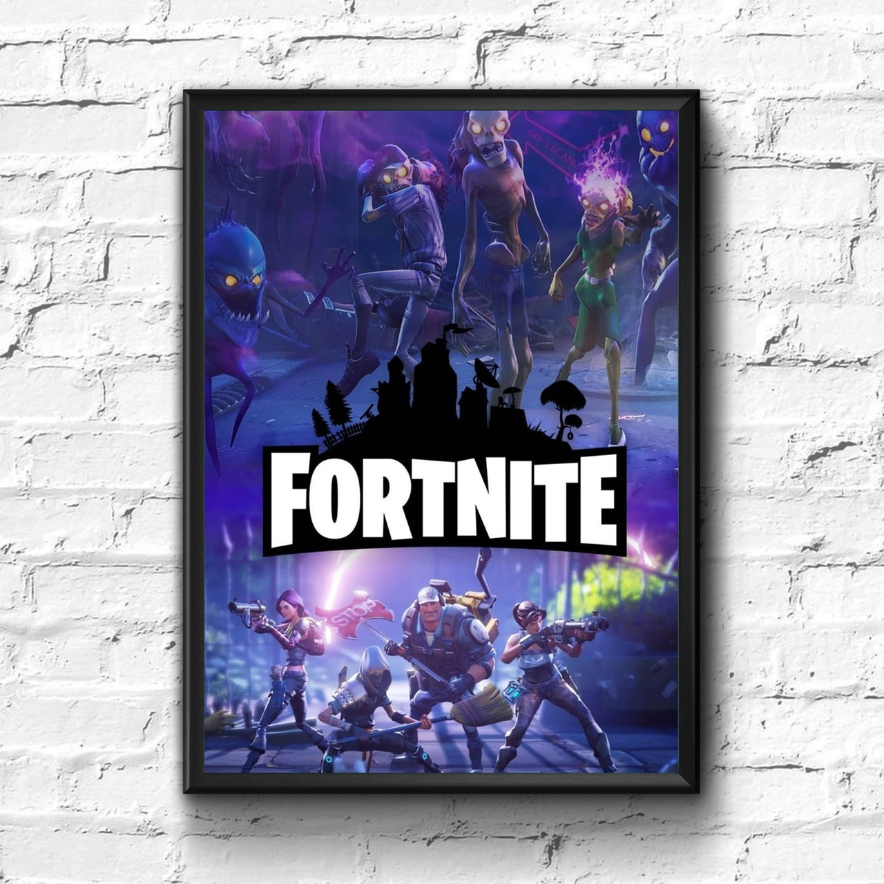 Постер с рамкой Fortnite #6