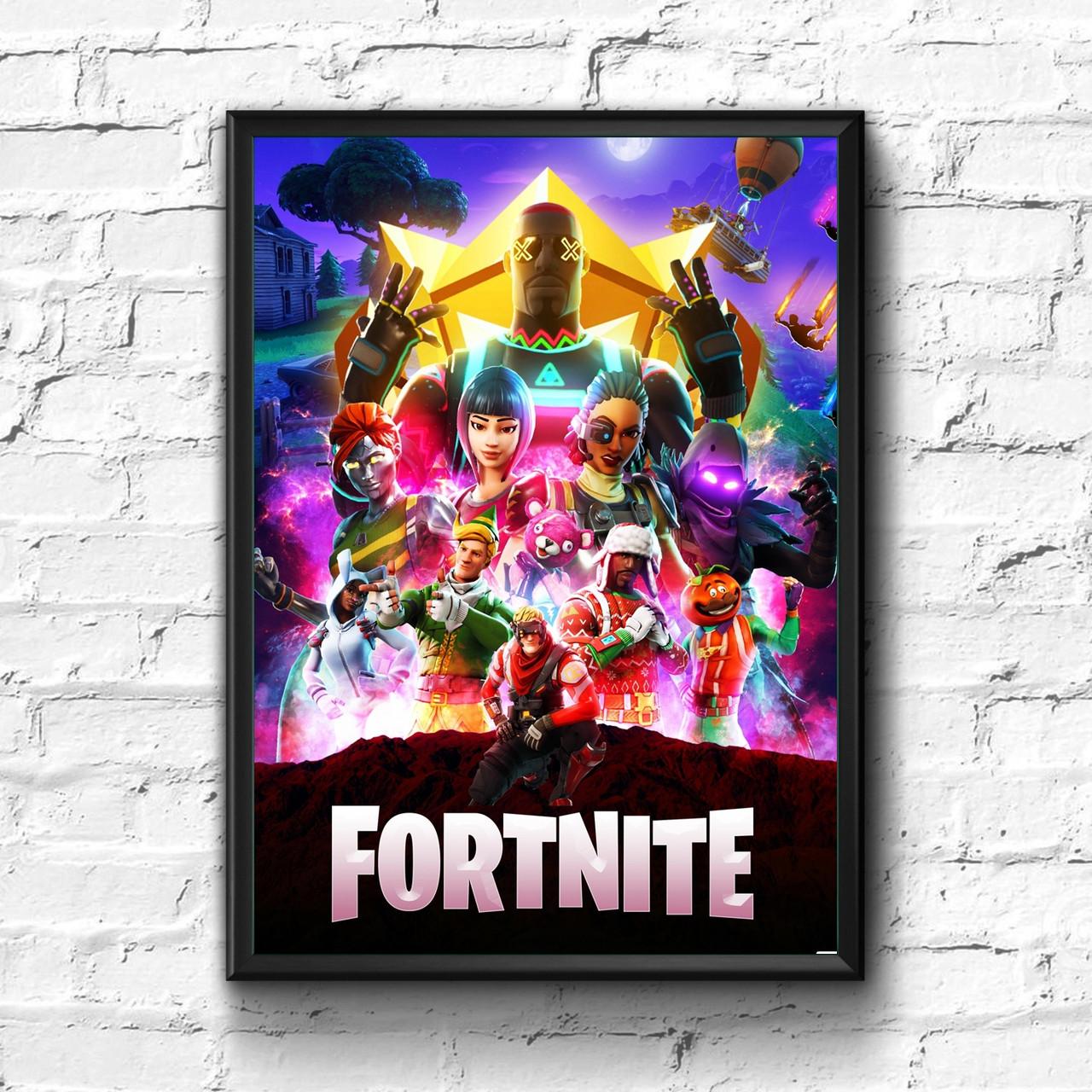Постер с рамкой Fortnite #8
