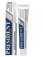 """Зубная паста """"PresiDENT """"CLINICAL"""" Вайт """" 75мл"""