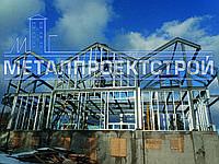 ЛСТК конструкции, строительство надстроек для зданий