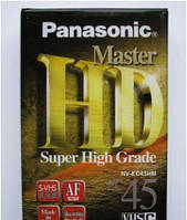 Panasonic HD Master видеокассеты VHS-C 45 компакт для видеокамер
