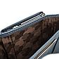 Женский Кошелек Бумажник Маленький на Кнопке для Карточек Weichen (B7561-31) Голубой, фото 7