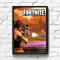 Постер с рамкой Fortnite #10