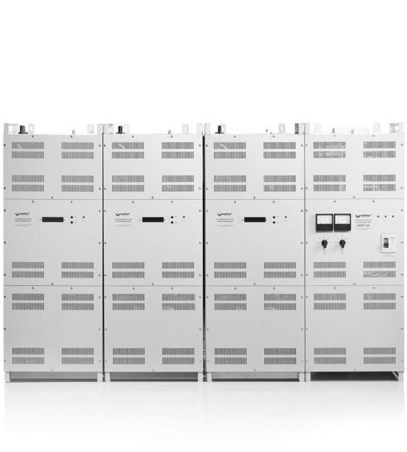Трёхфазный стабилизатор напряжения VOLTER-100 птс (105кВт)