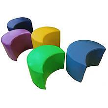 Детский мягкий модульный диван-пуф Цветик