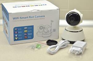 Поворотная видеокамера Wi-Fi Q6 Smart NET camera c двумя антеннами