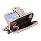 Женский Кошелек Маленький Baellerry Templar Mini (N1811) на Молнии для Карточек Розовый, фото 6