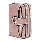 Женский Кошелек Маленький Baellerry Templar Mini (N1811) на Молнии для Карточек Розовый, фото 3