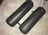 Усилители пружин пневмо,пневмоподушки Фиат Скудо Fiat Scudo MAXX (d 90 , h 300) сосок сбоку, фото 2