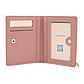 Женский Кошелек Бумажник Маленький на Кнопке для Карточек Weichen (C6912-002) Розовый, фото 5
