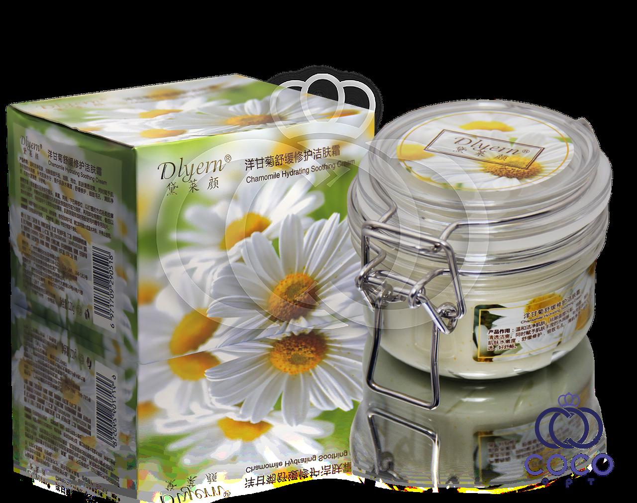 Корейский увлажняющий и успокаивающий крем с экстрактом ромашки Chamomile Hydrating Soothing Cream
