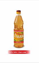 """Масло подсолнечное нерафинированное 0.7л """"Ольвия"""""""