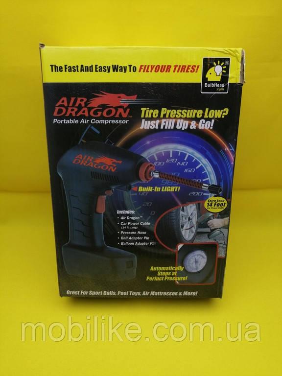 Портативний повітряний компресор Air Dragon Portable Air Compressor від прикурювача
