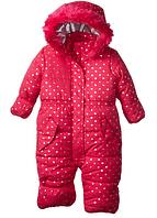 Сдельный малиновый комбинезон Weatherproof (США) для девочки 12мес