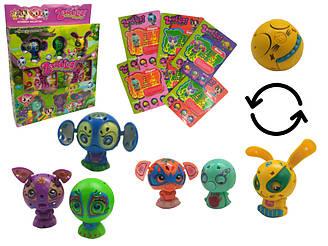 Набор игрушек Zoobles 6 зверьков 1047