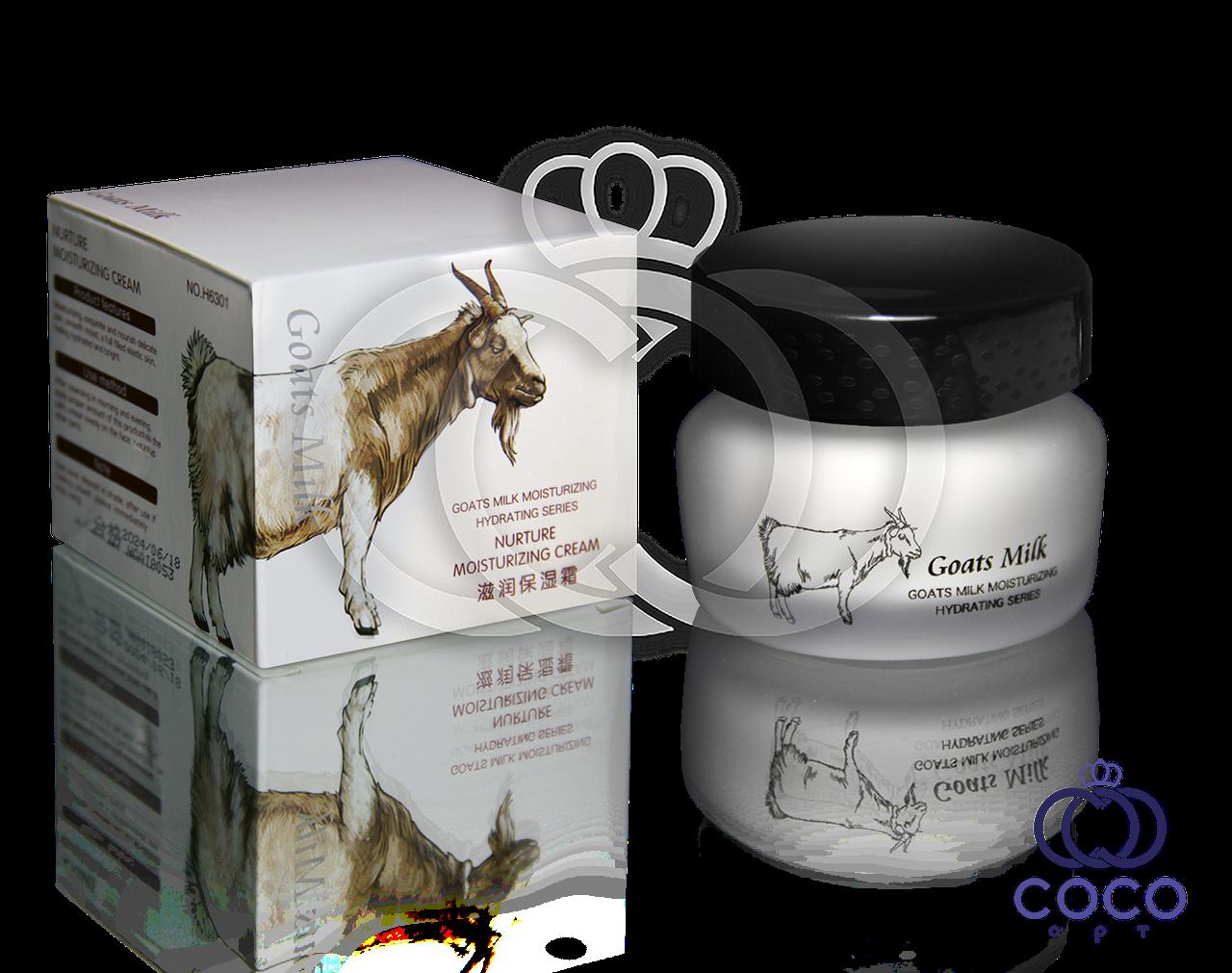 Корейский питательный и Корейский увлажняющий крем с козьим молоком Goats Milk Nurture Moisturizing Cream