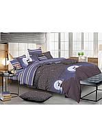 Комплект постельного белья сатин Ночное Сияние - Двуспальный Евро (490)