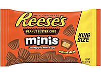 Шоколад Reese's Minis Peanut Butter Cups Арахисовая Паста США