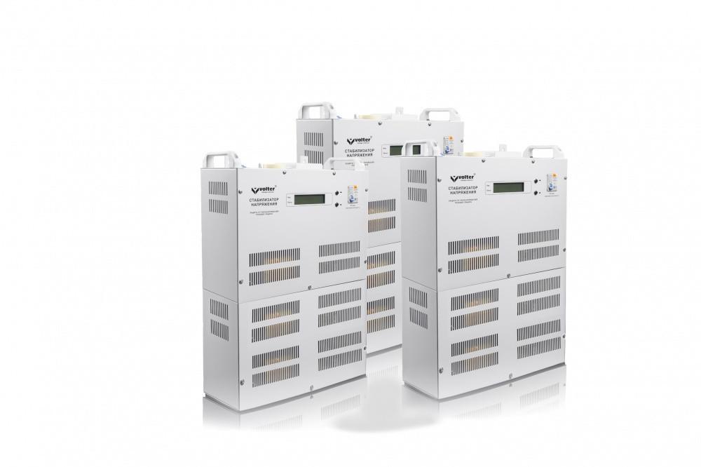 Трёхфазный стабилизатор напряжения VOLTER-81 птс (81кВт)