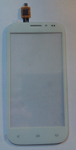 Сенсорний екран для смартфону Fly IQ4404, тачскрін білий