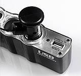 Автотройник + USB 12/24V прикуриватель зарядка, фото 5