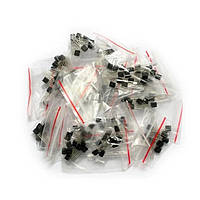 Набор транзисторов 170шт. - S9012 S9013 S9014 9015 9018 A1015 C1815 A42 A92 2N5401 2N5551 A733 C945 S8050 S855
