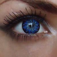 Магазин цветных линз для глаз Купить синие линзы для глаз Star Blue в интернет-магазине по самым низким ценам.