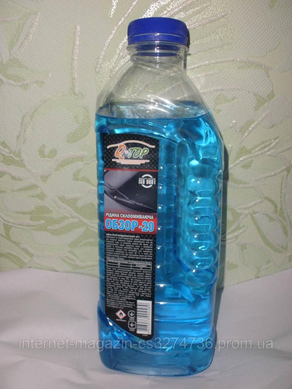 Жидкость стеклоомывателя зимняя -20 С
