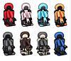Безкаркасне дитяче автокрісло в машину Child Car Seat Сірий/чорний, фото 9