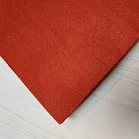 Фетр красный  А4 1мм.