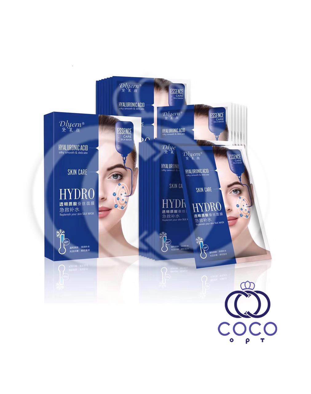 Корейская тканевая маска Hyaluronic Acid с гиалуроновой кислотой поштучно