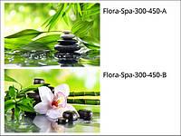 Стеклянная плитка для ванной, салона Flora-Spa