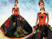 Бальное платье для кукол Барби, фото 1