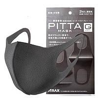 Маска угольная защитная Pitta, 1 шт