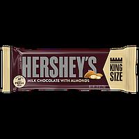 Молочный Шоколад HERSHEY'S Milk Chocolate with Almonds Bars King Size Миндаль 73 грамма