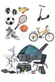 Спорттовари і відпочинок