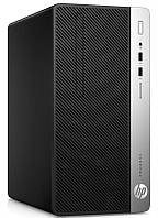 Персональный компьютер HP ProDesk 400 G5 MT (4VF03EA); Intel Core i3-8100 (3.6 ГГц) / ОЗУ 4 ГБ / HDD 500 ГБ / DVD-RW / Intel HD Graphics 630 / LAN /