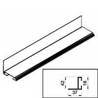 Профіль для кріплення нижнього ущільнювач для воріт Crawford Assa Abloy K055501