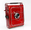 Плита газовая туристическая двухконфорочная Alocs CS-G06, резьбовое соединение, фото 3