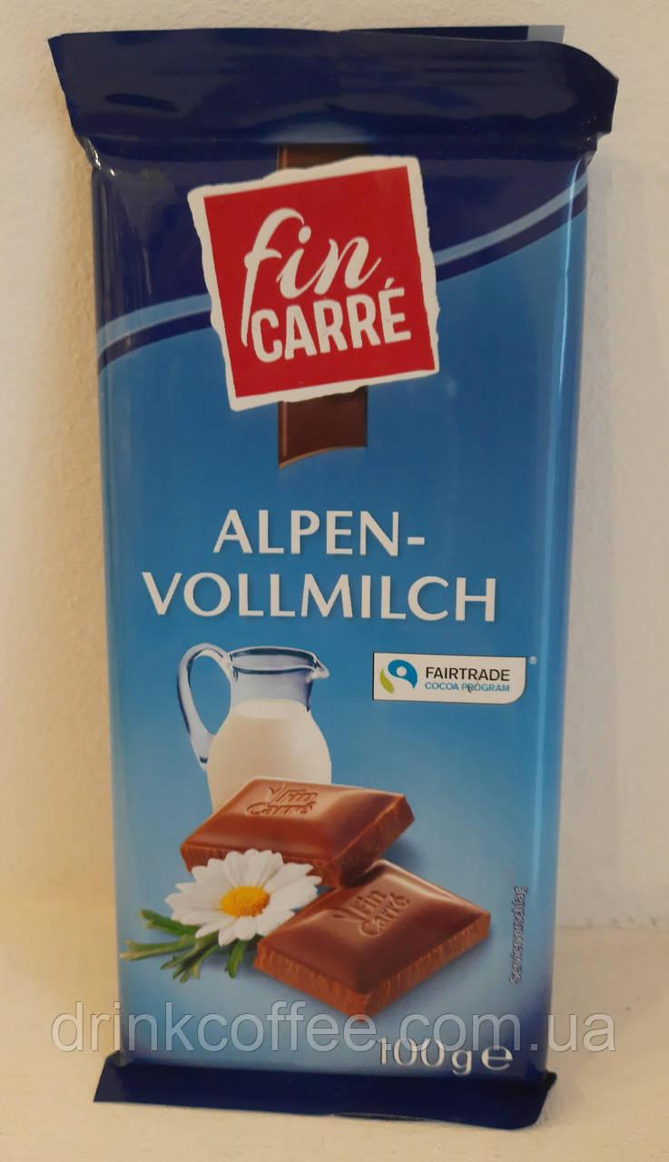 Шоколад Fin Carre, молочний, Німеччина, 100г