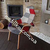 Дизайнерское кресло с лоскутков ткани АC-151KB
